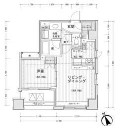 ドゥーエ銀座イーストⅡ / 5階 部屋画像1