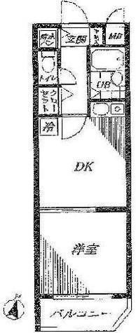 菱和パレス代々木公園 / 105 部屋画像1