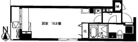 カージェ五反田 / 602 部屋画像1