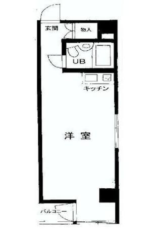 サンハイツ九段 / 6階 部屋画像1