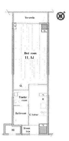 プラティーク清澄白河 / 1階 部屋画像1