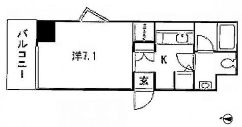 東陽町レジデンス壱番館 / 5階 部屋画像1