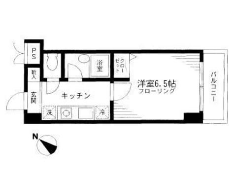 エクセル茗荷谷 / 5階 部屋画像1