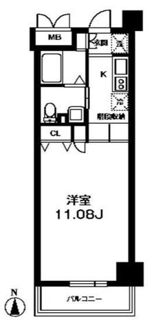 レジディア上野御徒町 / 8階 部屋画像1
