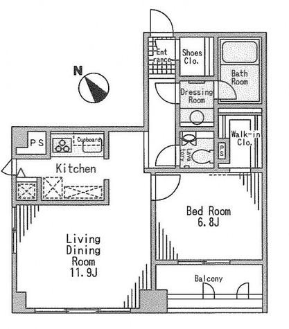 パークハビオ京橋 / 13階 部屋画像1