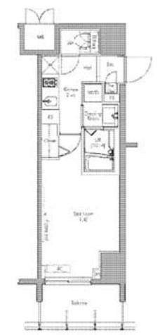 プラウドフラット隅田リバーサイド / 3階 部屋画像1