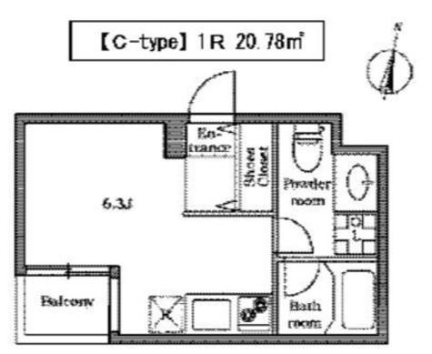 レグラス大岡山 (大岡山1) / 2階 部屋画像1