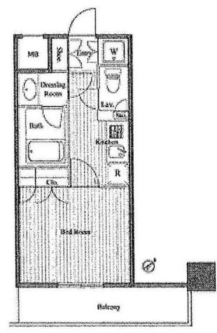 コージー・コート月島 / 9階 部屋画像1