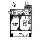 パークハビオ京橋 / 6階 部屋画像1