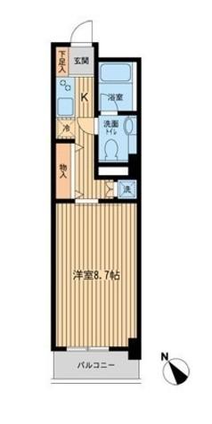 リヴシティ関内(旧ノステルコート関内) / 4階 部屋画像1