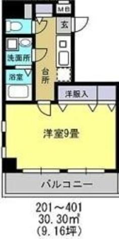 アルファサイト / 4階 部屋画像1