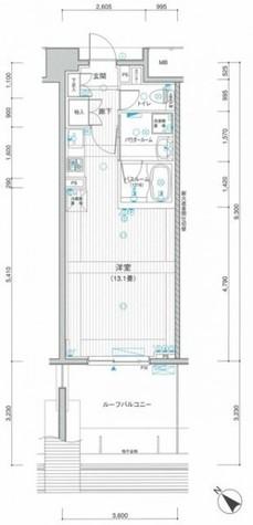 LA.PRYLE新横浜(エルエープライル新横浜) / 1004 部屋画像1