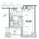 ザ・タワー芝浦(旧パシフィックタワー芝浦) / 802 部屋画像1