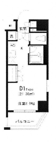 六本木 10分マンション / 11階 部屋画像1