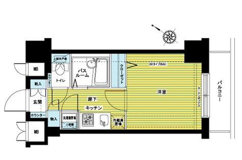 トーシンフェニックス初台 / 603 部屋画像1
