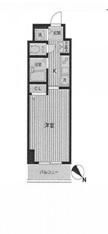 HF東神田レジデンス(旧エルミタージュ東神田) / 7階 部屋画像1