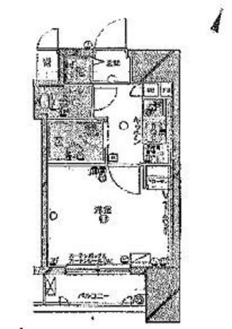 パークウェル神楽坂弐番館 / 1階 部屋画像1