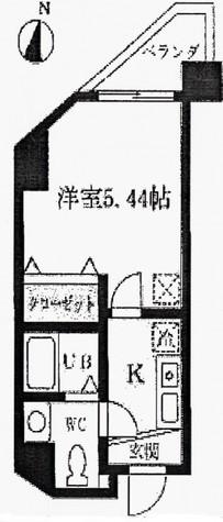 ベレール大井町 / 5階 部屋画像1
