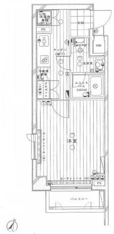 ルーブル学芸大学七番館 / 3階 部屋画像1