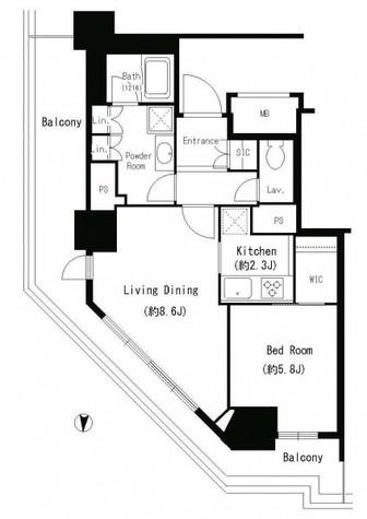 キャナルスクウェア豊洲 / 3階 部屋画像1