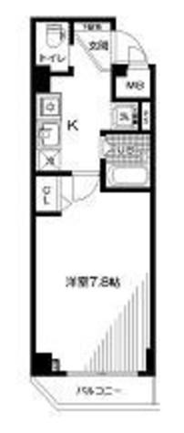 スペーシア飯田橋Ⅱ / 4階 部屋画像1
