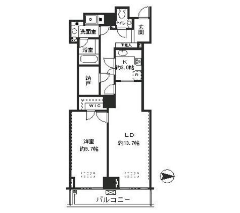 恵比寿ガーデンテラス弐番館 / 6階 部屋画像1