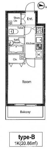 KWレジデンス両国 / 7階 部屋画像1