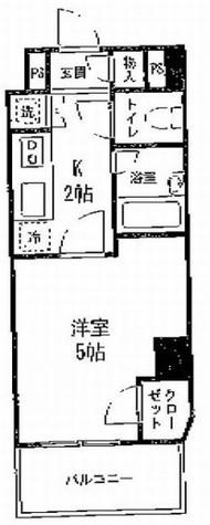 コンフォリア・リヴ小石川 / 502 部屋画像1