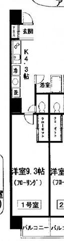 プルナスお茶の水 / 4階 部屋画像1