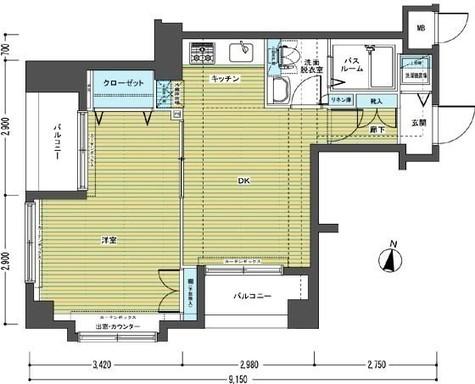 トーシンフェニックス笹塚参番館 / 213 部屋画像1