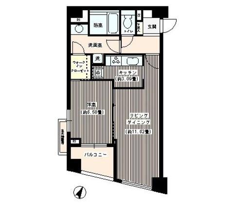 パトリス26 / 4階 部屋画像1