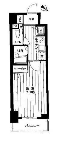 スパージオ横浜反町 / 503 部屋画像1