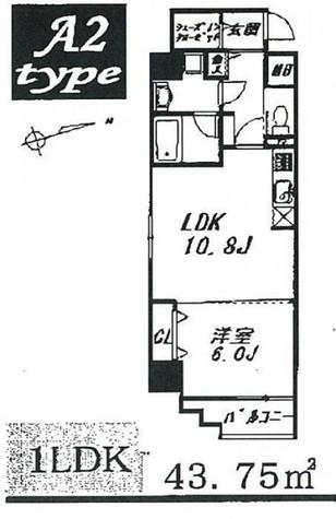 グレースランド / 8階 部屋画像1