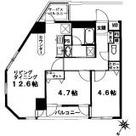 シンシア六本木 / 1202 部屋画像1