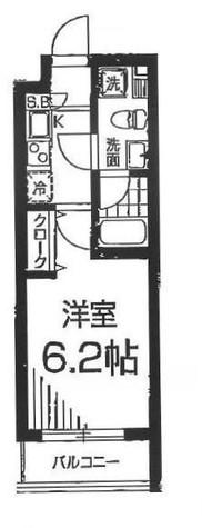 M's麻布十番(エムズ麻布十番) / 4階 部屋画像1