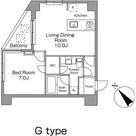 レジディア恵比寿南 / 206 部屋画像1