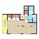 カモミール赤坂 / 302 部屋画像1