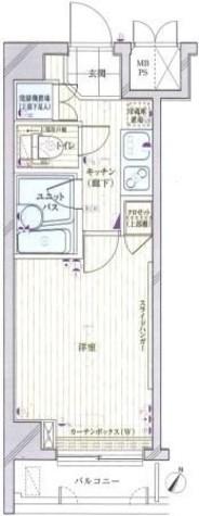 ルーブル目黒 / 3階 部屋画像1