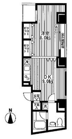 J's TOWER / 4階 部屋画像1