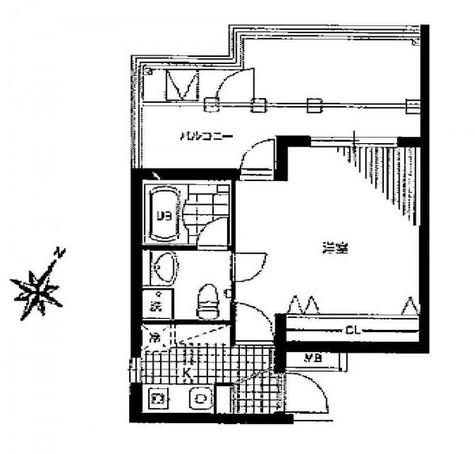 目黒 8分マンション / 4階 部屋画像1