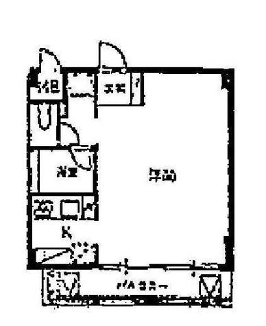 サウスサイド都立大 (中根2) / 208 部屋画像1