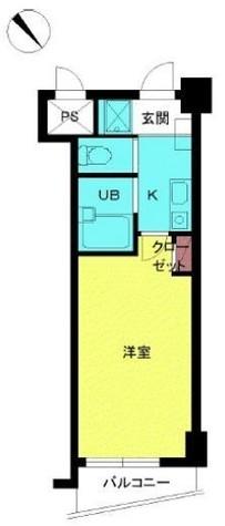 スカイコート目白台 / 8階 部屋画像1