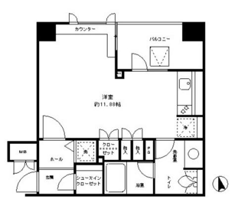 レジディア文京湯島 / 5階 部屋画像1