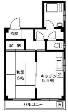 福田ビル / 5階 部屋画像1