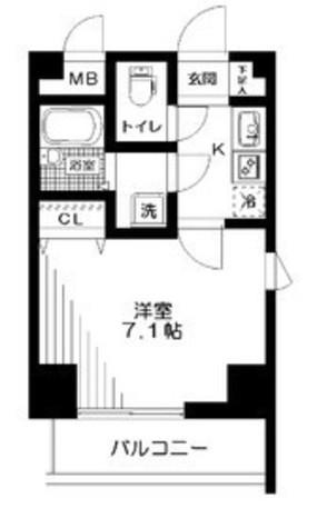 アーデン駒沢大学 / 804 部屋画像1