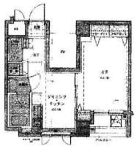 ロアール神田 / 5階 部屋画像1