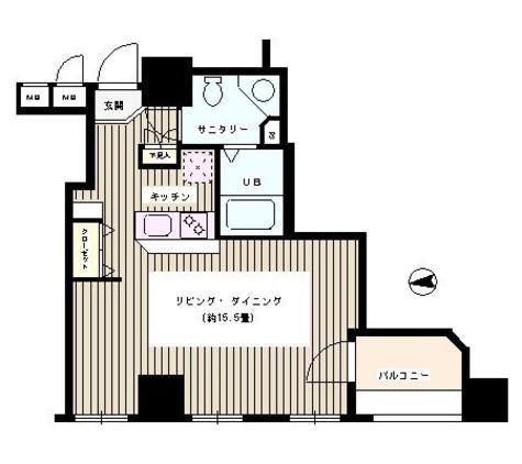 半蔵門 1分マンション / 4階 部屋画像1