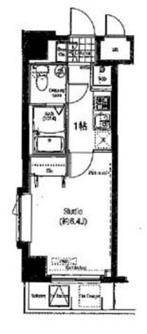 木場 4分マンション / 5階 部屋画像1