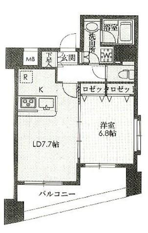 アーバネックス戸越銀座(旧:ステイシス戸越銀座) / 6階 部屋画像1