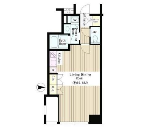 半蔵門 2分マンション / 7階 部屋画像1